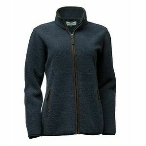 Hoggs Sussex Ladies Tufted Fleece Jacket (Navy)