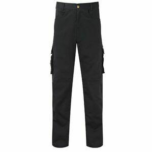 Castle 711L Long Black Work Trousers - 32.5
