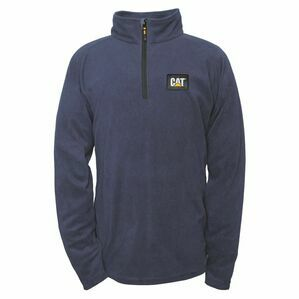 Caterpillar AG Fleece Pull Over Jumper in Eclipse