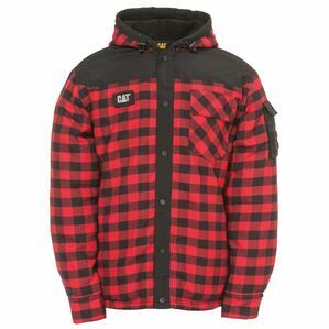 Caterpillar Sequoia Jacket in Red