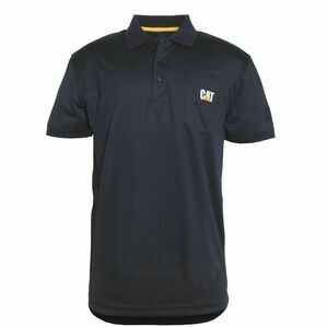 Caterpillar Snag Free Polo Shirt in Black