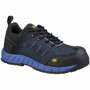 Caterpillar Byway Lace Up Safety Trainer in Blue Nights