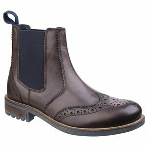 Cotswold Cirencester Chelsea Brogue in Brown