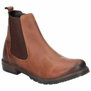 Cotswold Eastcombe Slip On Ankle Boot in Chestnut