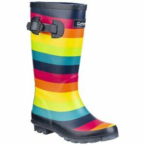 Cotswold Rainbow Junior Wellington Boot in Multicoloured