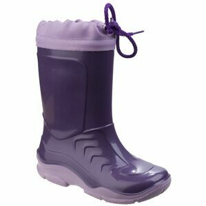 Miscellaneous Other Splash Slip on Childrens Wellington in Lilac