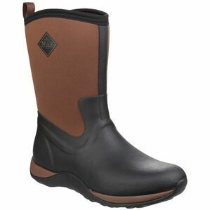 Muck Boots Arctic Weekend Pull On Wellington in Black/Tan