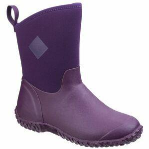 Muck Boots Muckster II Mid RHS Print Gard in Purple/Flora