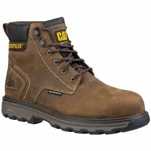 Caterpillar Precision Lace Up Boots in Dark Brown