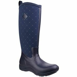 Muck Boots Arctic Adventure Women's Wellington Boots in Navy Quilt