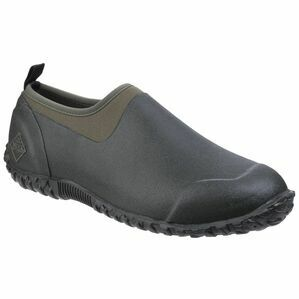 Muck Boots Muckster II Low All Purpose Shoes in Black/Moss