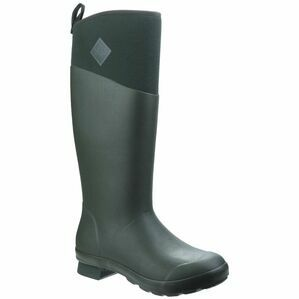 Muck Boots Tremont Tall Waterproof Wellington Boots in Deep Forest/Charcoal Gray
