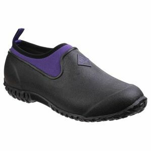 Muck Boots Muckster II Low All Purpose Shoes in Black/Purple