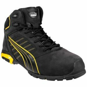 Puma Safety Amsterdam Mid Safety Boots in Black