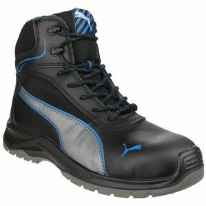 Puma Safety Atomic Mid Water Resistant Boots in Black