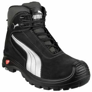 Puma Safety Cascades Mid Lace-up Safety Boots in Black