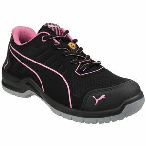 Puma Safety Fuse Tech Lightweight Ladies Safety Trainers in Black