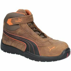 Puma Safety Indy Mid Men's Velcro Safety Boots in Brown