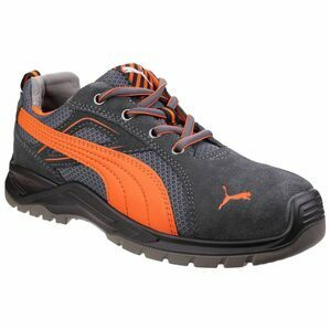 Puma Safety Omni Flash Low Lace Up Safety Shoes in Orange