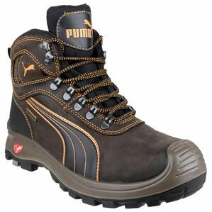 Puma Safety Sierra Nevada Mid Lace Up Boots in Brown