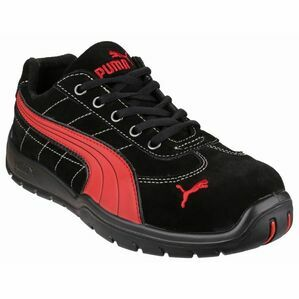 Puma Silverstone Low Safety Shoes in Black