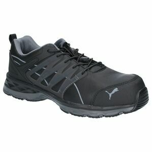 Puma Safety Velocity 2.0 Lace Up Safety Shoes in Black