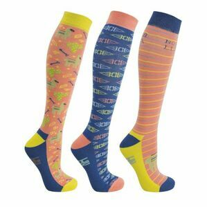 HyFASHION Llama Riding Socks - Pack of 3