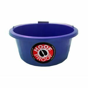 Mitchell Hoof Proof Feed Bucket - Blue