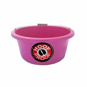 Mitchell Hoof Proof Feed Bucket - Pink