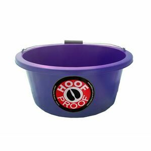 Mitchell Hoof Proof Feed Bucket - Purple