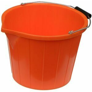 Mitchell 3 Gallon Buffalo Water Bucket - Orange
