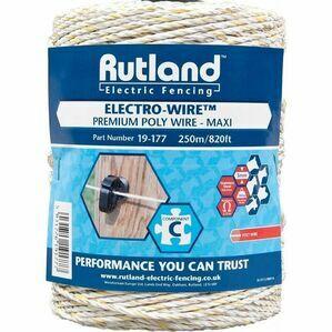 Rutland Maxi Power Electro Polywire - 250 metres
