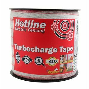 Hotline 20mm Turbocharge White Electrotape