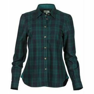 Hoggs Of Fife Beth Women's Navy Check Shirt