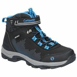 Cotswold Ducklington Touch Fastening Hi in Black/Blue