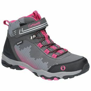 Cotswold Ducklington Touch Fastening Hi in Grey/Pink
