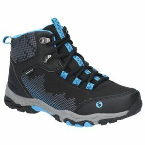 Cotswold Ducklington Lace Up Hiking Wat in Black/Blue