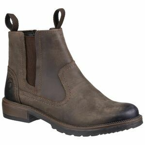 Cotswold Laverton Slip On Ankle Boot in Brown