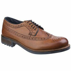 Cotswold Poplar Brogue Dress Shoe in Tan