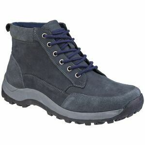 Cotswold Slad Lace Up Boot in Navy