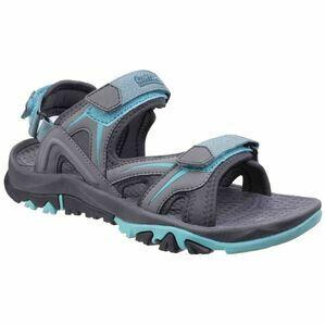 Cotswold Swinbrook Sandal in Grey/Aqua