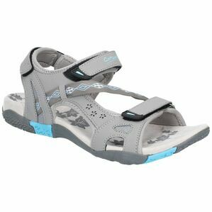 Cotswold Whichford Touch Fasten Sandal in Grey/Light Blue