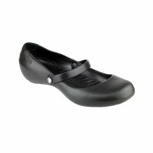 Crocs Alice Work Slip on Shoe in Black