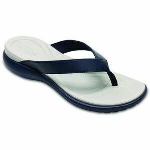 Crocs Capri V Flip Womens in Navy/White