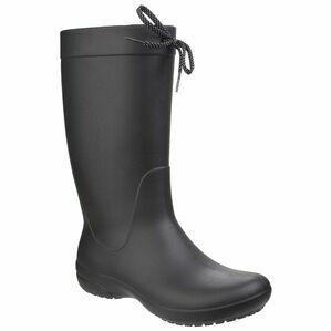 Crocs Freesail Rain Boot in Black
