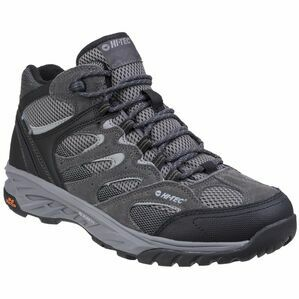 Hi-Tec Wild-Fire Mid I Waterproof Wal in Charcoal/Black/Olive Night