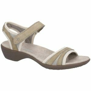 Hush Puppies Athos Touch Fasten Sandal in Taupe