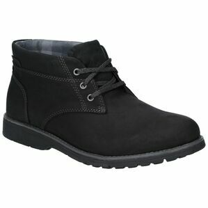 Hush Puppies Beauceron Plain Toe Chukka Boo in Black