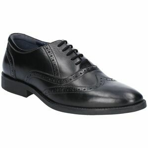 Hush Puppies Bruno Brogue Lace Up Shoe in Black