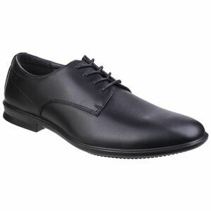 Hush Puppies Cale Oxford Plain Toe Shoe in Black